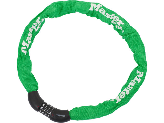 Masterlock 8392 Chain Lock 8x900mm, green